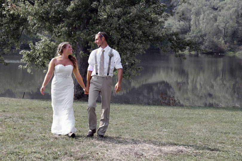 Outdoor wedding 2016. Photo