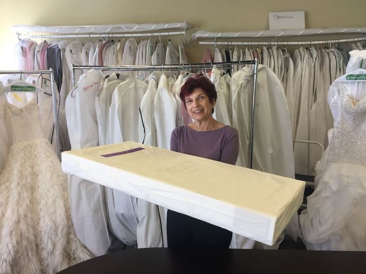 Boxed dress