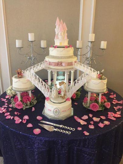 Castle type cake