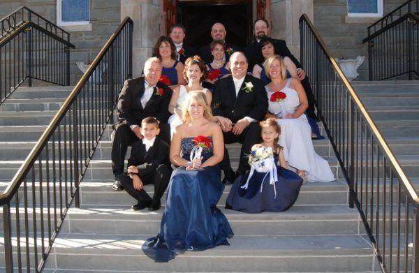 Tmx 1255362874052 Bridalpartyonstepsofchurch Mohawk wedding planner