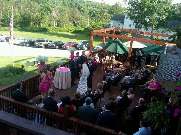 Tmx 1359302809747 Weddinginprogressonthedeck Mohawk wedding planner