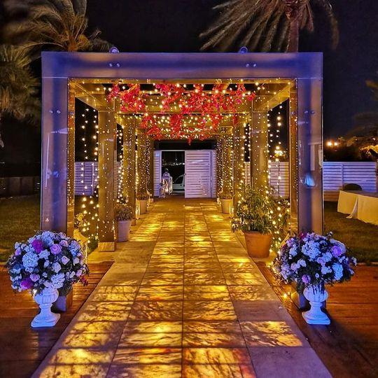 Amazing entrance