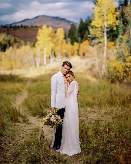 Fall Wedding in the Uintas