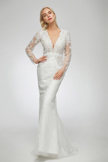 Classic beaded gown