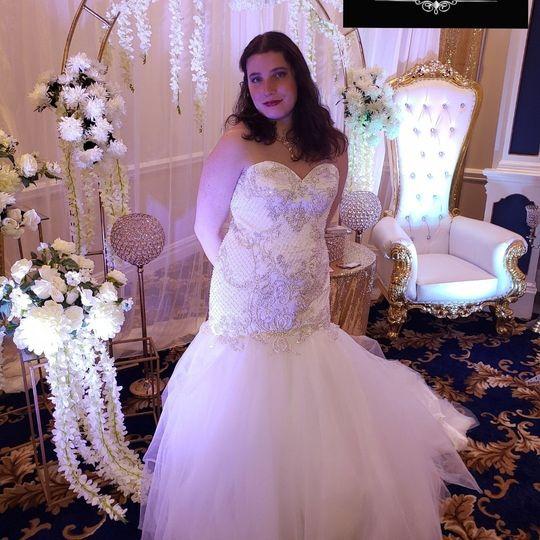 Enchanting dress design