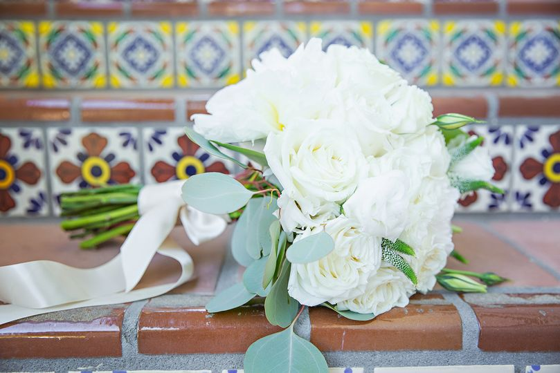 Personalized wedding bouquets