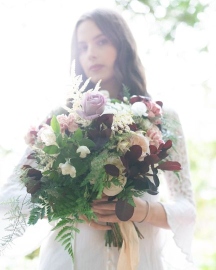Overflowing bouquet - Emma Rae Visions