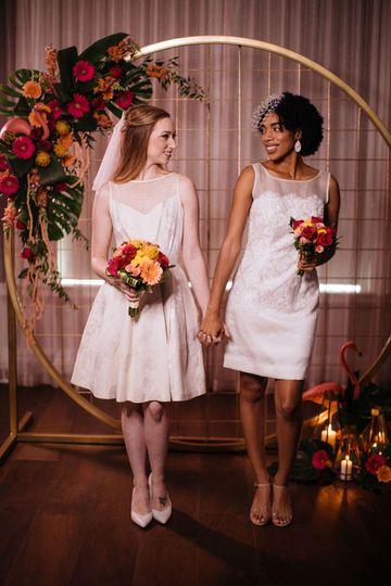 Mid-Century Modern Wedding