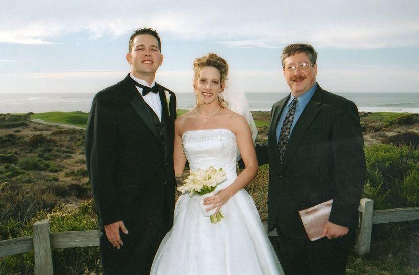 Ocean view wedding at the Half Moon Bay Ritz-Carlton
