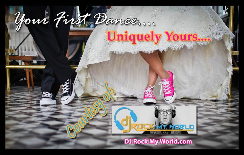 Your First Dance....done YOUR