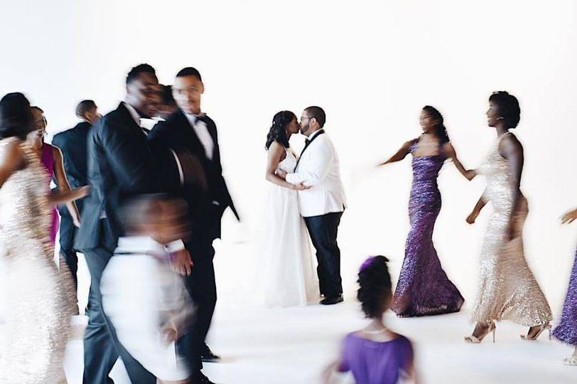 Wedding Party Blur