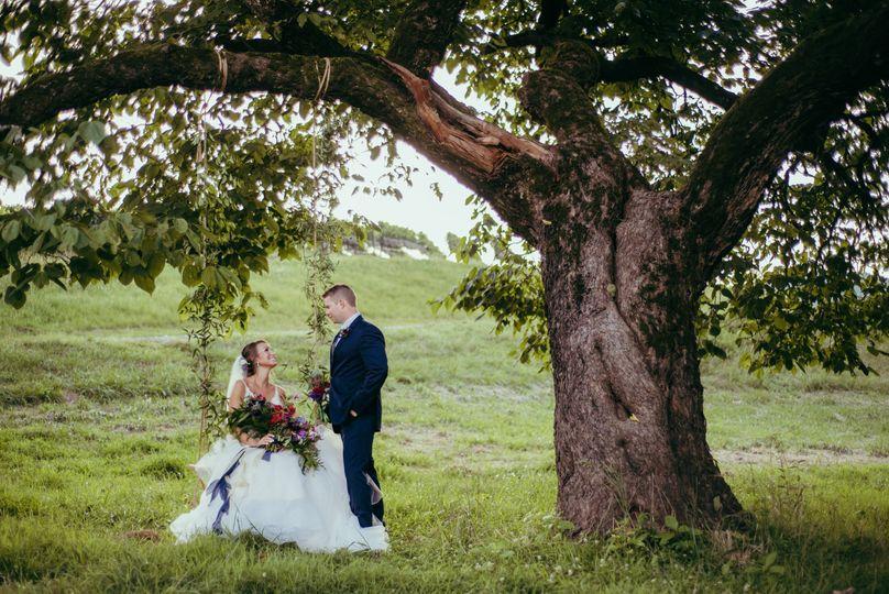 Perfect Wedding Swing