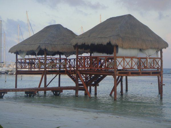 Dreamy overwater massages...