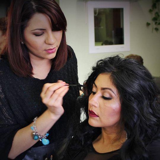 Eliza Villalva makeup services