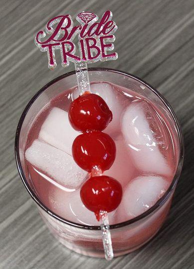 Bride tribe swizzle stick