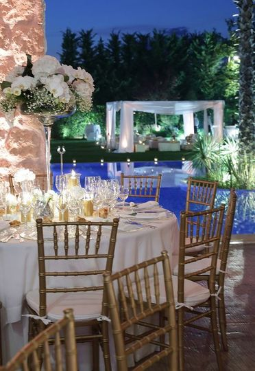 Private Outdoor Reception
