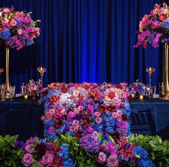 Royal Sweetheart Table