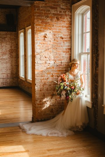 Sunlight and floral bouquet