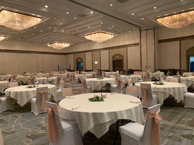 TN Ballroom B/C - linens and c