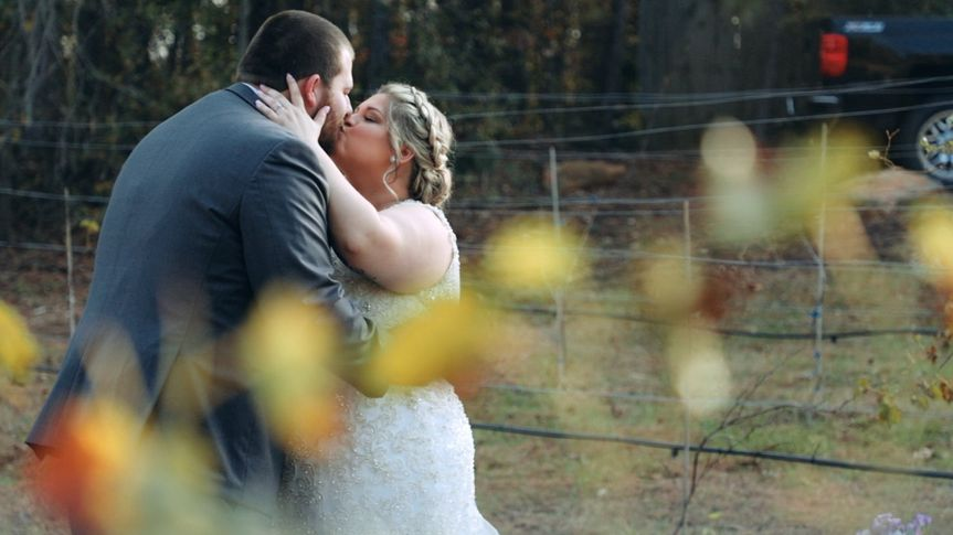 Chad and Ashley's wedding