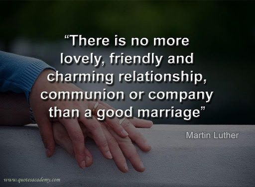 Marriage by Martin Luther