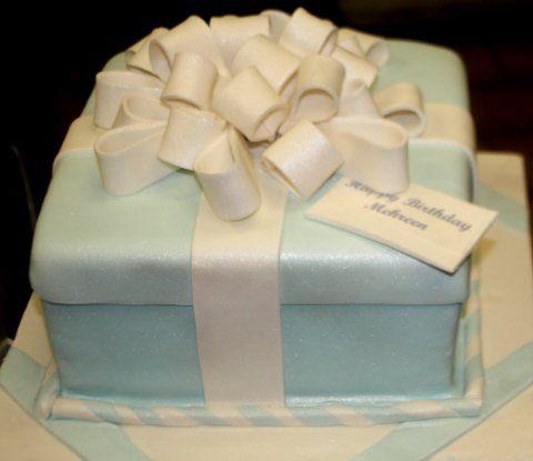 Tmx 1301010896817 Tiffanygiftbox Jersey City wedding cake