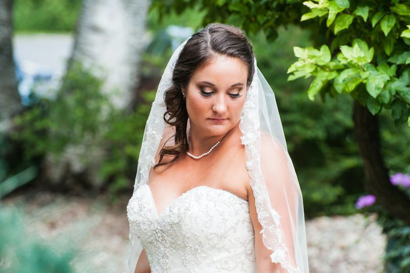 Bride at Dibbles Inn