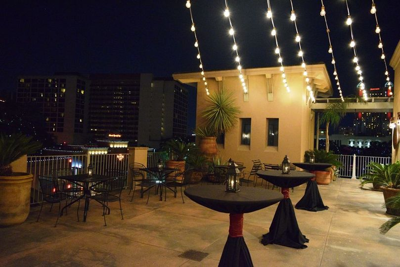 Cocktail style - rooftop