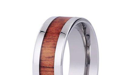 Koa Wood Rings