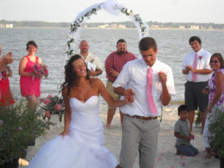 The couple on the beach
