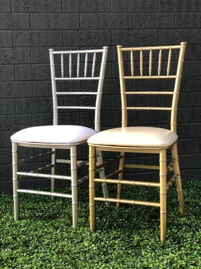 Gold or Silver Chiavari Chairs