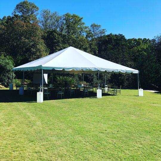 30x30 Tent Rental