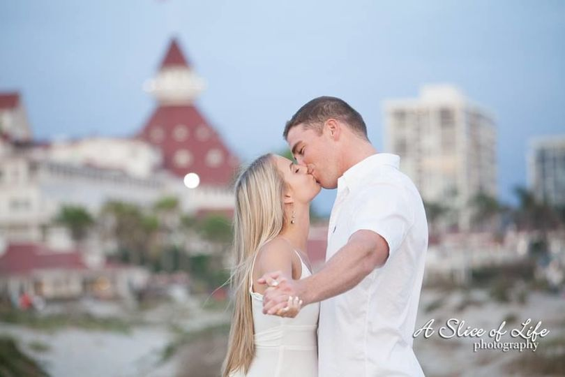 Eloping on Coronado Beach