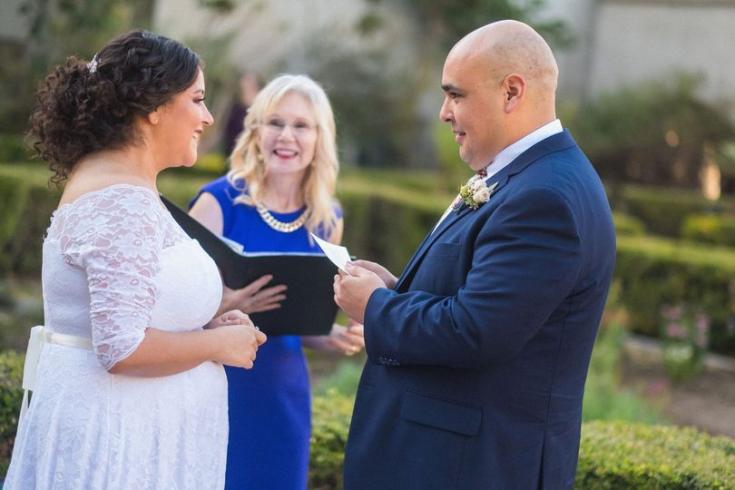 Personalized vows. So lovely
