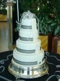 Tmx 1246574940750 Clarkwedding Davenport, IA wedding cake