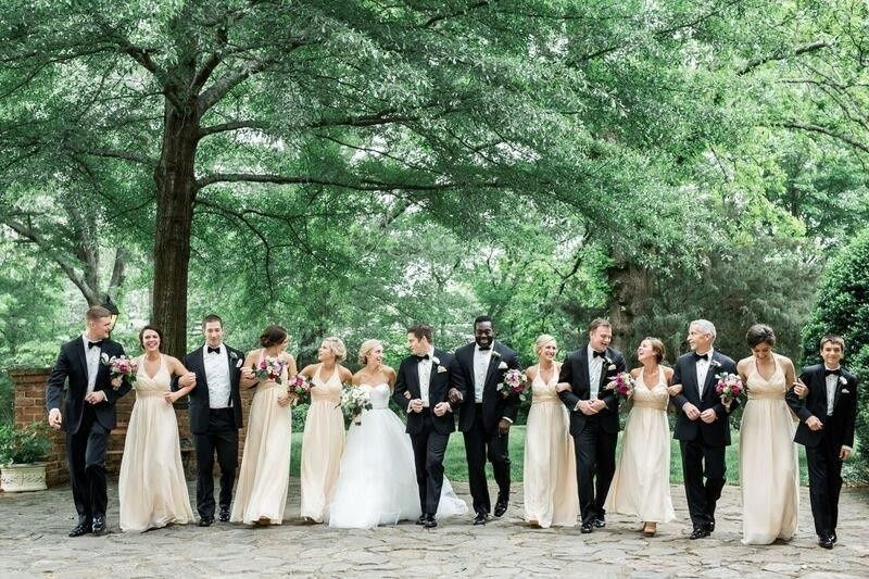 The Gardens At Great Oaks Venue Roswell Ga Weddingwire