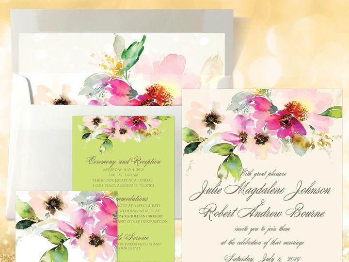 Tmx Design Ideas Lucy 51 1874413 157660219398996 Millburn, NJ wedding invitation
