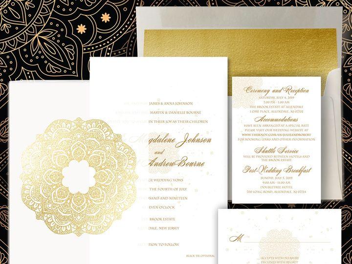 Tmx Mandaladesignideas 51 1874413 157660220696959 Millburn, NJ wedding invitation