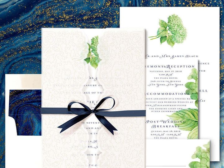 Tmx Sample2 51 1874413 1567716339 Millburn, NJ wedding invitation