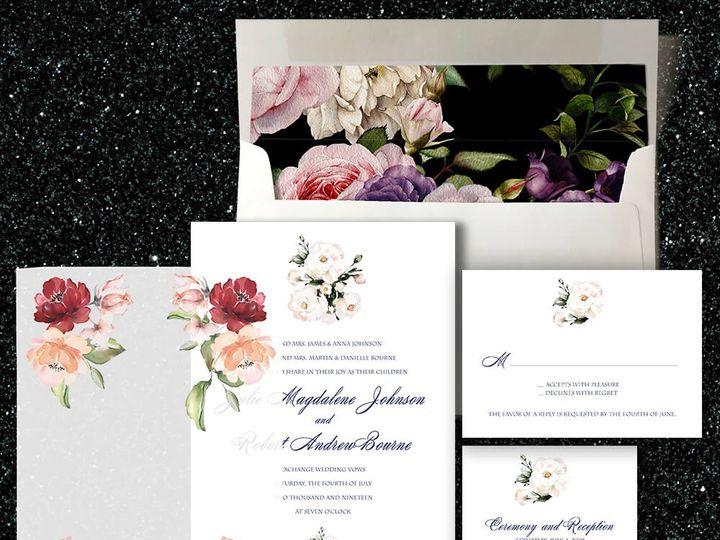 Tmx Watercolors 51 1874413 157660221175323 Millburn, NJ wedding invitation