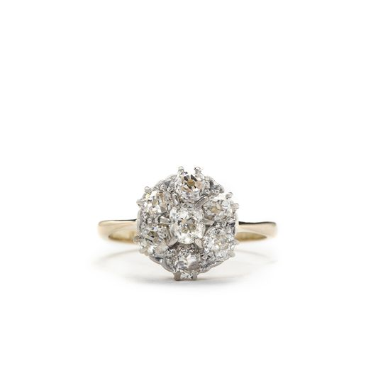 fiona victorian diamond engagement ring