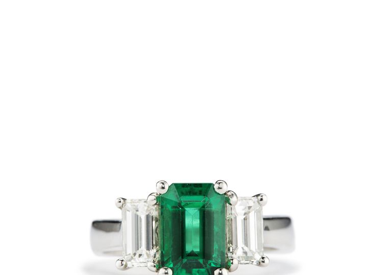 Tmx 1487721577684 Garbo Art Deco Emerald Ring Beaverton wedding jewelry