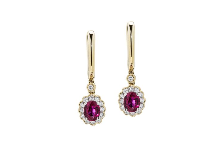 Tmx 1487721599618 Ruby And Diamond Earrings Beaverton wedding jewelry