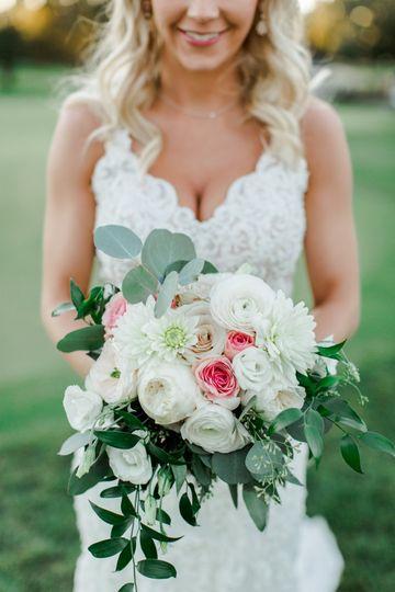 Bridal bouquet | Ashley Dahl Photography