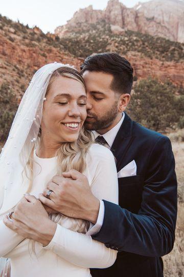 Zion National Park elopement - Soul Tribe Photography