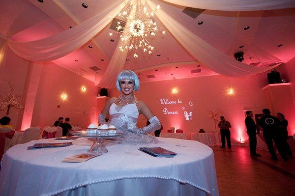 We have a wide variety of strolling tables and will customize it to YOUR wedding colors.  It's a...