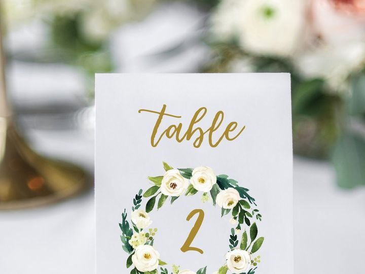 Tmx Madison Collection Table Number 01 51 1865413 1566999114 Reading, PA wedding invitation