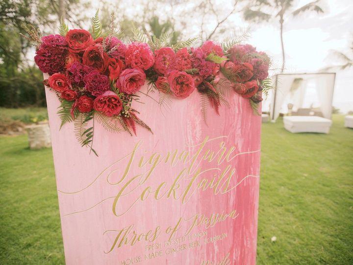 Tmx 1482268642158 Cocktail Menu Detail Kihei wedding planner