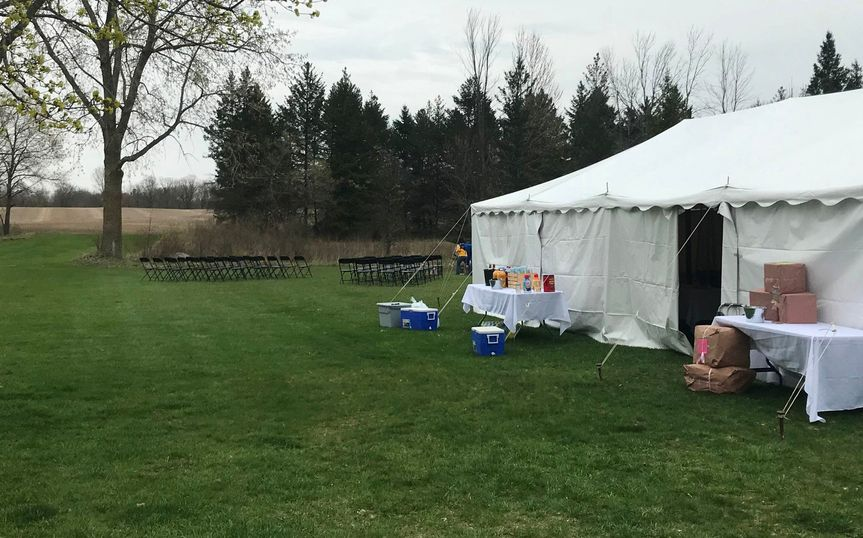 Small Wedding Tent