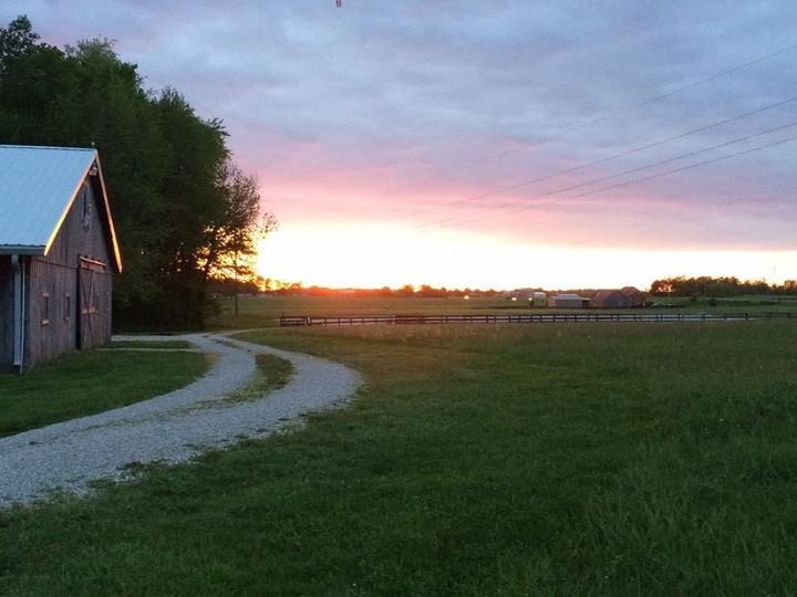 Sunset at Moonlit Farms